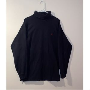 Black XL Polo Ralph Lauren turtle neck long sleeve
